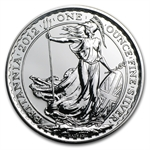 2012 1 oz Silver Britannia (Brilliant Uncirculated)