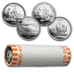 90% Silver - Proof Statehood/ATB Quarters - $100 Face Value Bag