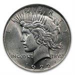 1922 Peace Dollar MS-61 NGC VAM-2A Ear Ring LDS Top-50
