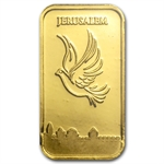 1 gram Holy Land Mint Dove of Peace Gold Bar (In Assay) New Bars!