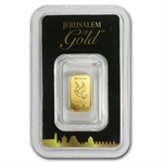 1 gram Holy Land Mint Dove of Peace Gold Bar (In Assay) Dec 19th)