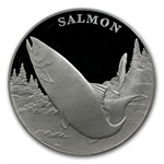 2003 Wildlife Refuge - Salmon $1 Silver Commem PR-69 DCAM PCGS