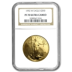 1992-W 1 oz Proof Gold American Eagle PF-70 NGC
