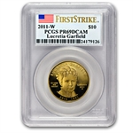 2011-W 1/2 oz Proof Lucretia Garfield PCGS PR-69 DCAM (FS)