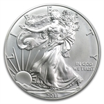 2011-S 1 oz Silver Eagle MS-70 PCGS 25th Anniversary (FS)