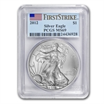 2012 Silver American Eagle - MS-69 PCGS - First Strike