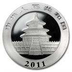 2011 Silver Chinese Panda 1 oz - MS-70 PCGS (First Strike)