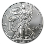 2011 Silver Eagle 25th Anniv MS-70 PCGS (FS) Blue Label
