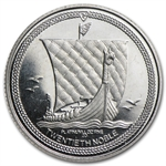 1/20 oz Isle of Man Platinum Noble