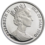 1/20 oz Isle of Man Platinum Noble (Proof &/or Uncirculated)