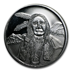 5 Pc. American Indian 1 oz Silver Round Collection