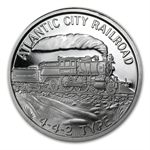 1 oz Silver Steam Locomotive 5-Round Collection