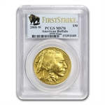 2008-W 4-Coin Gold Buffalo Set MS-70 PCGS (FS) Registry Set