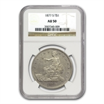 1877-S Trade Dollar - Almost Uncirculated-50 NGC