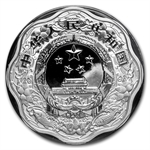2012 Year of the Dragon 1 oz Silver Flower (w/box, CoA)