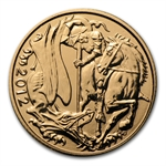 2012 Great Britain Bullion Gold Sovereign AGW .2354