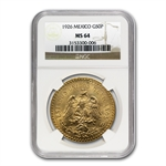 Mexico 1926 50 Peso Gold MS-64 NGC