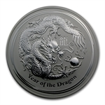 2012 1 Kilo Silver Australian Year of the Dragon NGC MS-69
