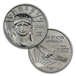 1997-2008 1/10 oz Platinum American Complete 12 Coin Collection