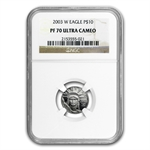 2003-W 1/10 oz Proof Platinum American Eagle PF-70 NGC UCAM