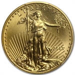 1/2 oz Gold American Eagle PCGS/NGC MS-70 (Random Year)
