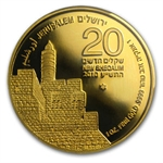 2010 Israel 1 oz Gold Tower of David .9999 Fine MS-69 PCGS