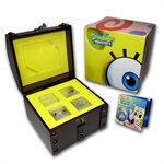 2011 4 x 1 oz Silver SpongeBob Coin Set in Treasure Chest Box