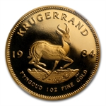 1984 1 oz Gold South Africa Krugerrand NGC PF-69 UCAM