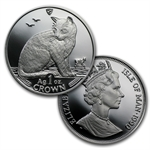 Isle of Man 1 Oz Silver Proof Cats 24 Coin Set