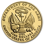 2011-P Army - $5 Gold Commemorative - Proof