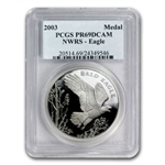 2003 Wildlife Refuge Bald Eagle $1 Silver Commem PR-69 DCAM PCGS
