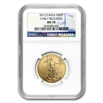 2012 1/2 oz Gold American Eagle MS-70 NGC (Early Releases)