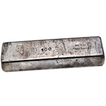 100 oz Nevada Coin Mart Silver Ingot Bar .999 Fine