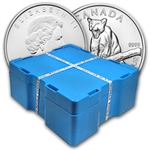 2012 Silver Canadian Cougar 500-Coin Monster Box (Sealed)