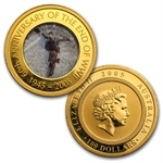 2005 60th Anniversary of the End of WWII Gold & Silver coin Set