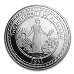 1 oz University of Alabama Silver Round .999 Fine