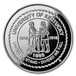 1 oz University of Kentucky Silver Round .999 Fine