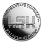 1 oz Louisiana State University Silver Round .999 Fine