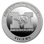 1 oz University of Missouri Silver Round .999 Fine