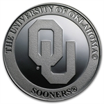 1 oz University of Oklahoma Silver Round .999 Fine