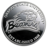 1 oz Oregon State University Silver Round .999 Fine