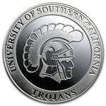 1 oz University of Southern California Silver Round .999 Fine