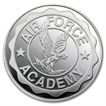 1 oz U.S. Air Force Academy Silver Round .999 Fine