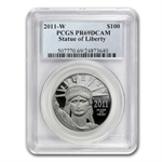 2011-W 1 oz Proof Platinum American Eagle PCGS PR-69