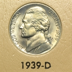 1938-2011 Jefferson Nickel Set in Album - BU & Proof 210 Coins!