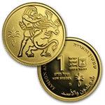 2009-11 Israel Biblical Art Series-Smallest Gold Coins 3-Coin Set