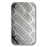 1 oz Engelhard Platinum Bar ('E' logo, No Assay) .9995 Fine
