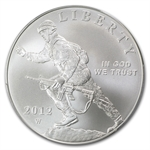 2012-W Infantry Soldier $1 Silver Commemorative - MS-70 PCGS (FS)