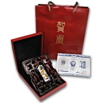 2012 18 gram Colorized Silver Year of the Dragon Bar