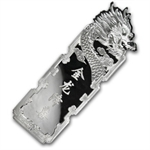 2012 2000 gram Colorized Silver Year of the Dragon Bar